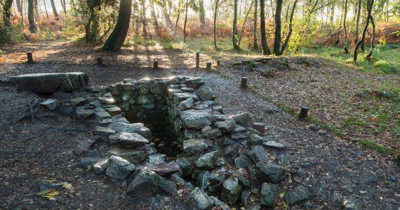 Fuente de Barenton, Brocelianda, Bretaña