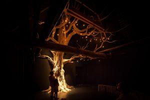 Porte des secrets arbre