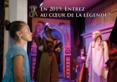 Centre Arthurien expo 2019 château de Comper