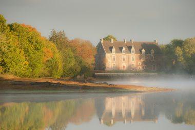 Chateau de Comper, Concoret, Brocéliande, Bretagne CRTB
