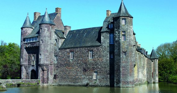 Das Schloss von Trécesson - Kredit Caroline Mancheron