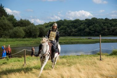 Becoming Arthur's knight - The Arthurian Centre