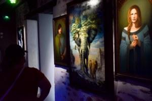 expo Ondes et Lumières de Brocéliande 2020.