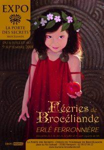 Féeries de Brocéliande exposition Erlé Ferronnière