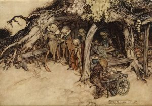 Arthur Rackham Midsummer Night's Dream