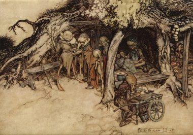 Arthur Rackham Midsummer Night's Dream
