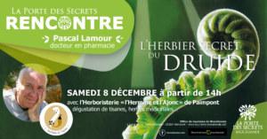 Pascal Lamour Herbier secret du druide