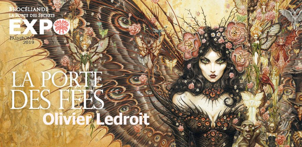 la Porte des fées exposition Olivier Ledroit 2019