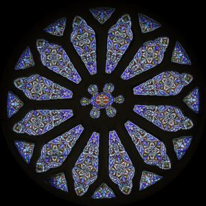La Rose de l'église de Paimpont - Crédit : Richard Sayer