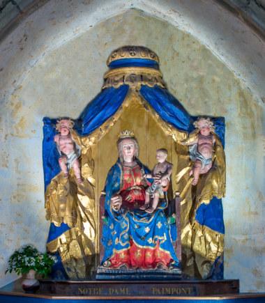 Notre Dame de Paimpont - Crédit photo : Richard Sayer