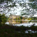 Abbaye de Paimpont et étang de l'abbaye de Paimpont @Richard Say