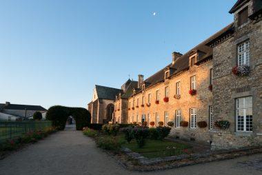 France, Ille-et-Vilaine (35), Paimpont, l'abbaye