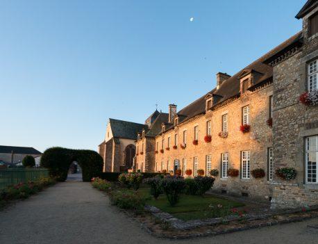 Abadía de Paimpont (Bretaña, Francia)