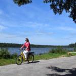 étang du Pas du Houx, balade en vélo à assistance électrique. Photo Office de tourisme de Brocéliande 2018.