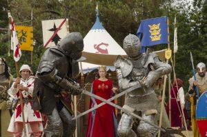 Combat de chevalier - Centre de l'Imaginaire Arthurien - Pentecôte