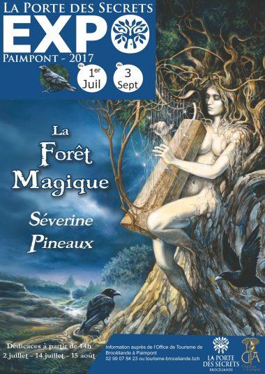 La porte des Secrets - exposition Séverine Pineaux