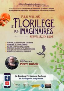 Affiche florilège imaginaires 2020