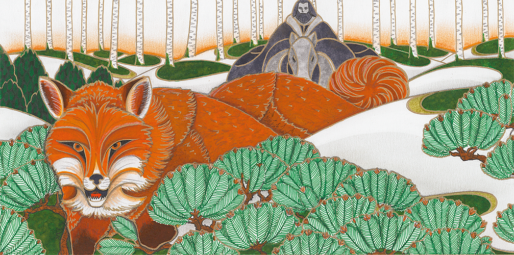 renard et chevalier David Balade