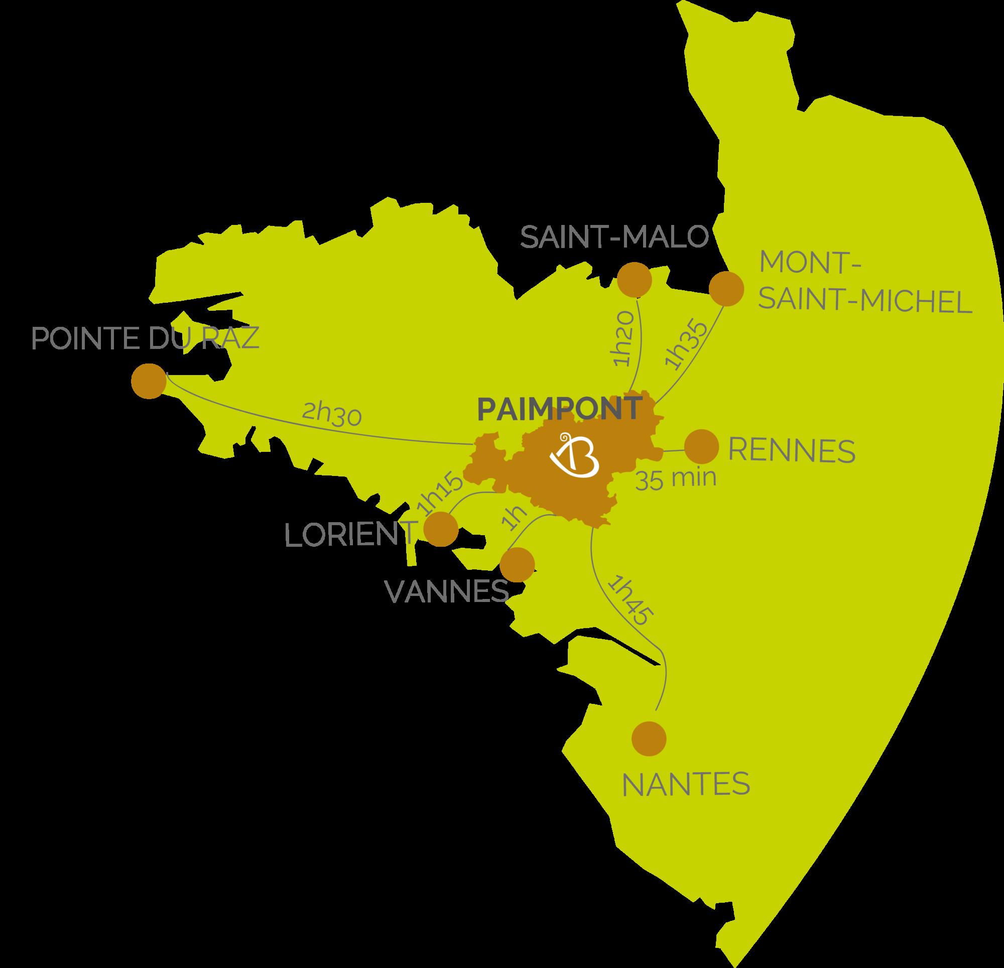 foret de paimpont carte Carte   Brocéliande en Bretagne   English   Office de Tourisme de