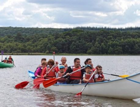Kayak Canoë Nature Paimpont Famille Sport