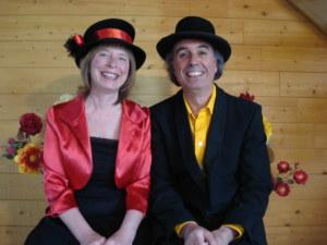 Linda et Jean-Charles, conteurs musiciens