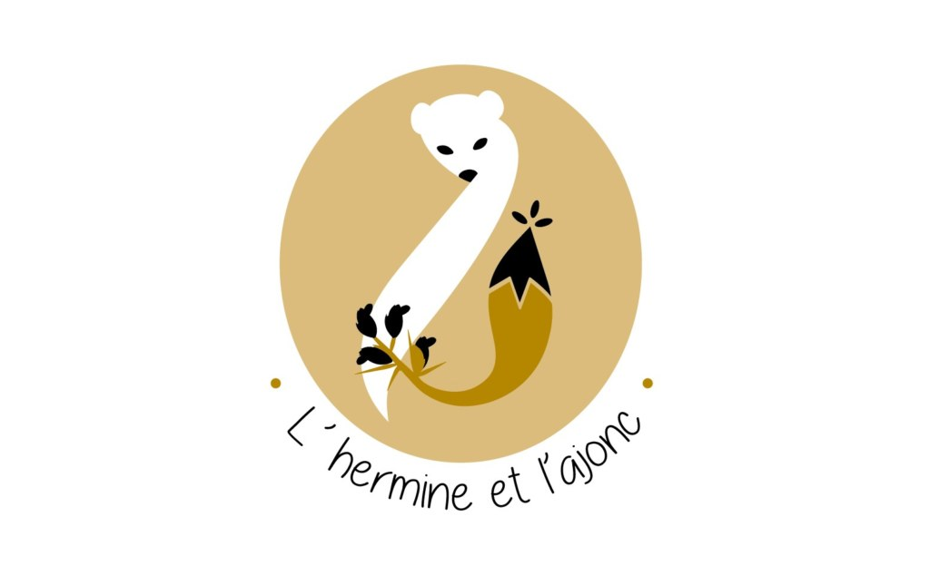 l'Hermine et l'Ajonc logo épicerie