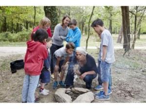 Menhirs de Monteneuf - Brocéliande Bretagne, apprendre à faire du feu