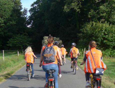 brocéliande à vélo balade contée Bretagne, forêt Paimpont