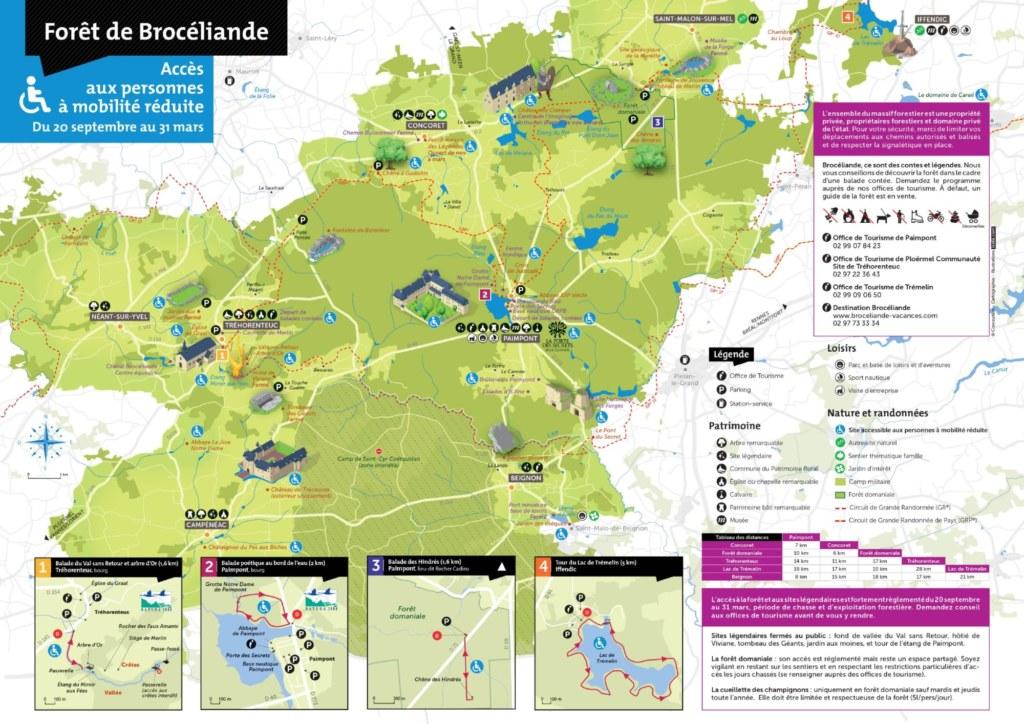 carte mobilité réduite foret 2021