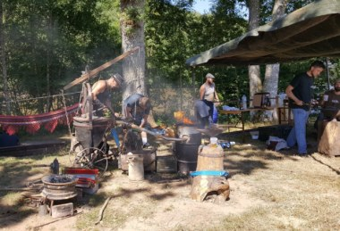 Fête du Fer 2017. photo by So Twin. Paimpont, Brocéliande