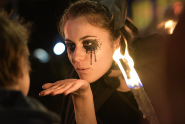 Dark Noz spectacle Samain