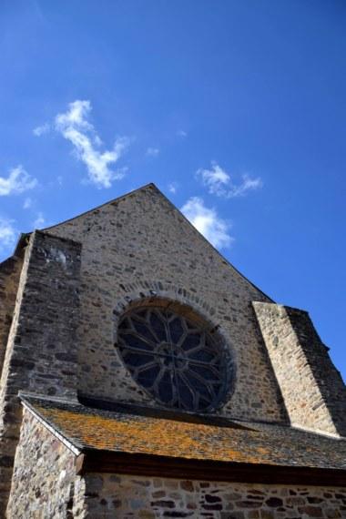 Rosace abbaye de Paimpont