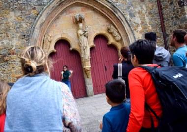 visite théâtralisée abbaye de Paimpont
