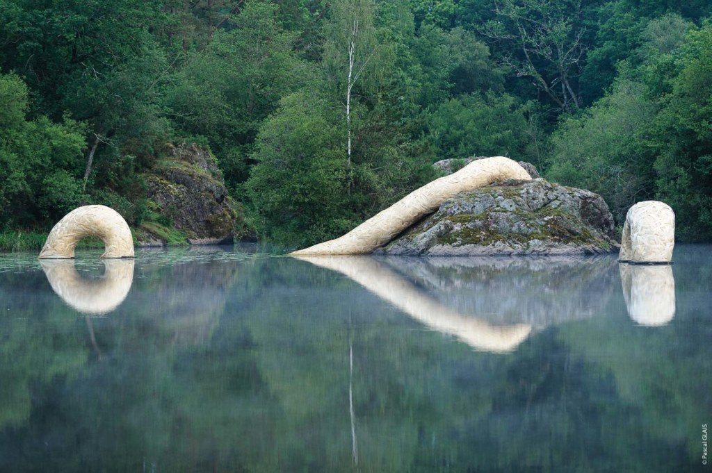 Sans queue ni tête de Claude Le Luherne - étangs d'art 2018, photo Pascal Glais