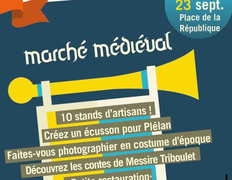 Marché Médiéval Plélan 2018