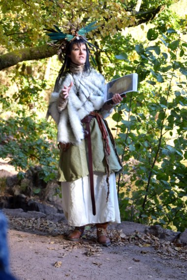 Caroline Duban, balade conférence sorcières.