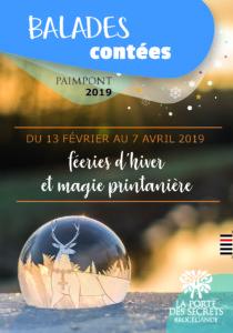 flyer Balades féeriques 2019