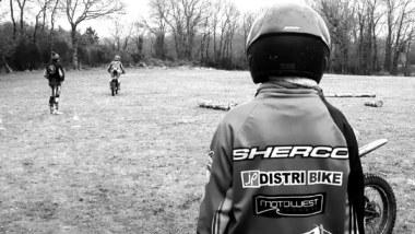 Trial Bréal-sous-Montfort, moto sportive