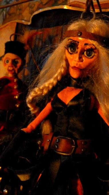Nicolette et Aucassin, spectacle marionnettes. Compagnie Coppélius