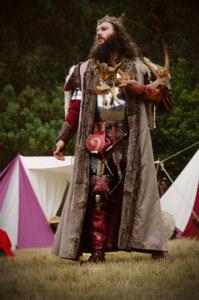 Pentecôte du roi Arthur, le souverain. Centre de l'Imaginaire Arthurien