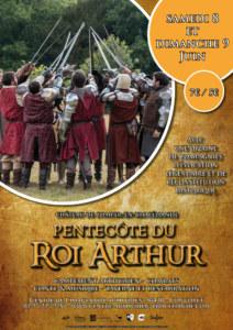 Pentecôte du roi Arthur affiche 2019. Centre de l'Imaginaire Arthurien
