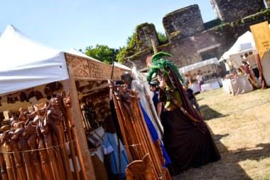 Médiévales Brocéliande, château de Comper