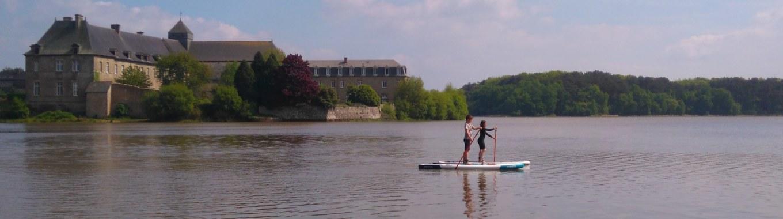 broceliande stand up paddle, Paimpont, Ille-et-Vilaine.