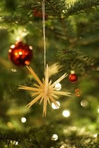 noël, décoration, sapin, hiver, photo