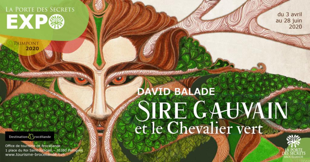 Le Chevalier Vert,création de David Balade.
