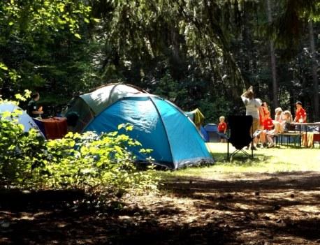 camping en Brocéliande